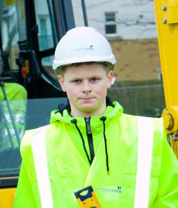 Harry Hudson, apprentice joiner in Hull